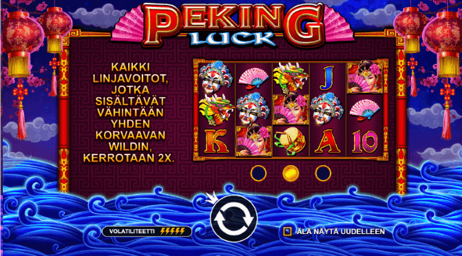 Peking luck peli